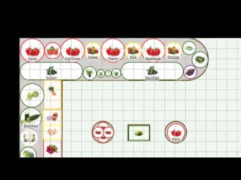 New Vegetable Garden Layout Tool