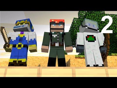 Hypixel Bedwars 2- Ft. Colin, Erik, and Sam