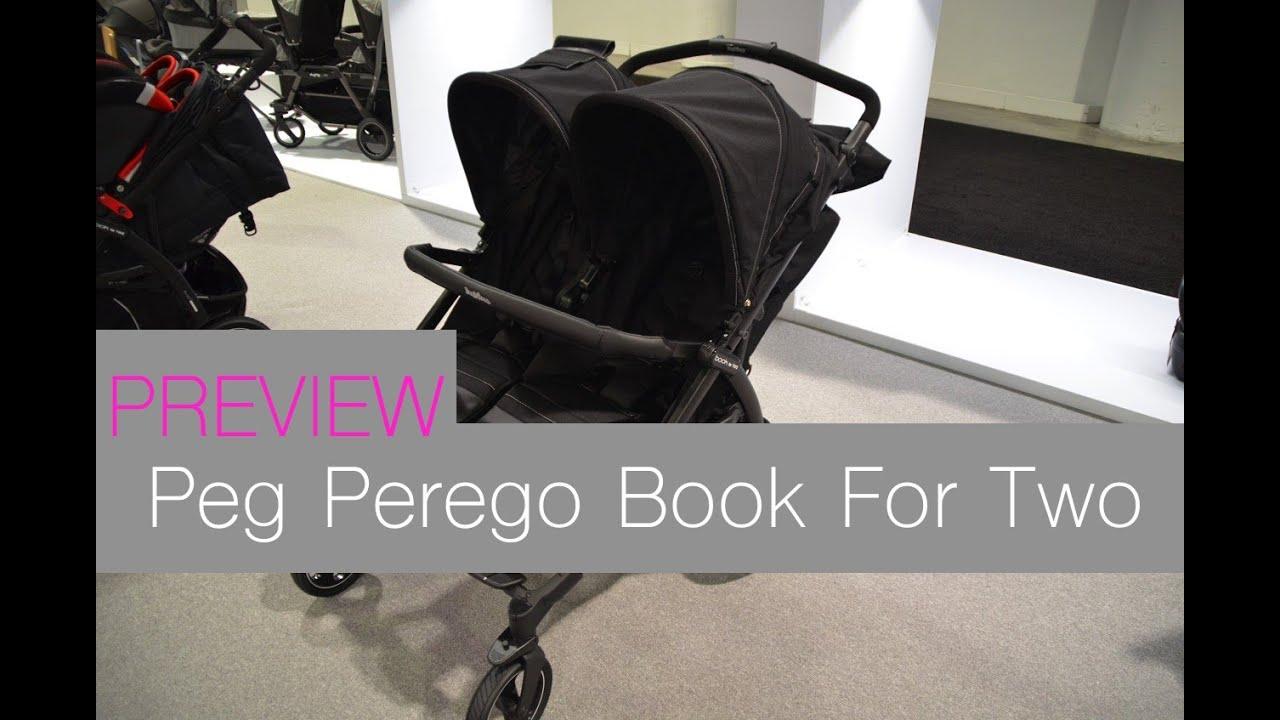 Прогулочная коляска peg-perego book completo, цвет: черный. (2) коляска 3 в 1 peg-perego book plus pure с шасси book 51 white, цвет: бежевый.