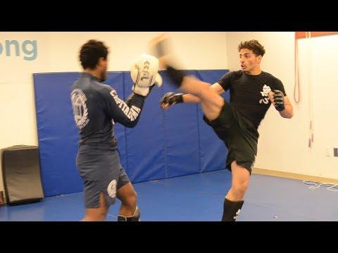 MMA Vs Mushin Combat Sparring