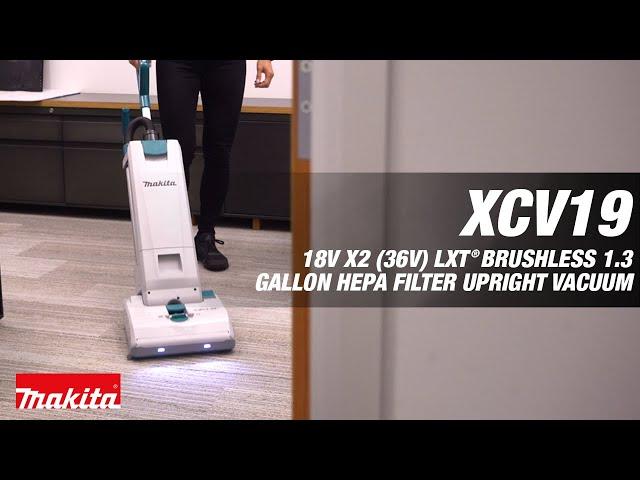 MAKITA 18V X2 (36V) LXT Cordless Upright Vacuum XCV19