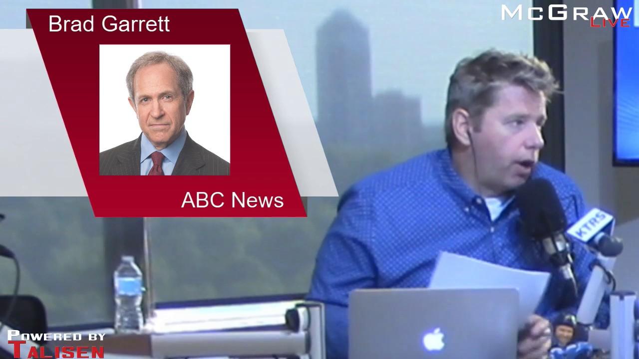 Former FBI agent Brad Garrett on the firing of James Comey ... Brad Garrett Fbi
