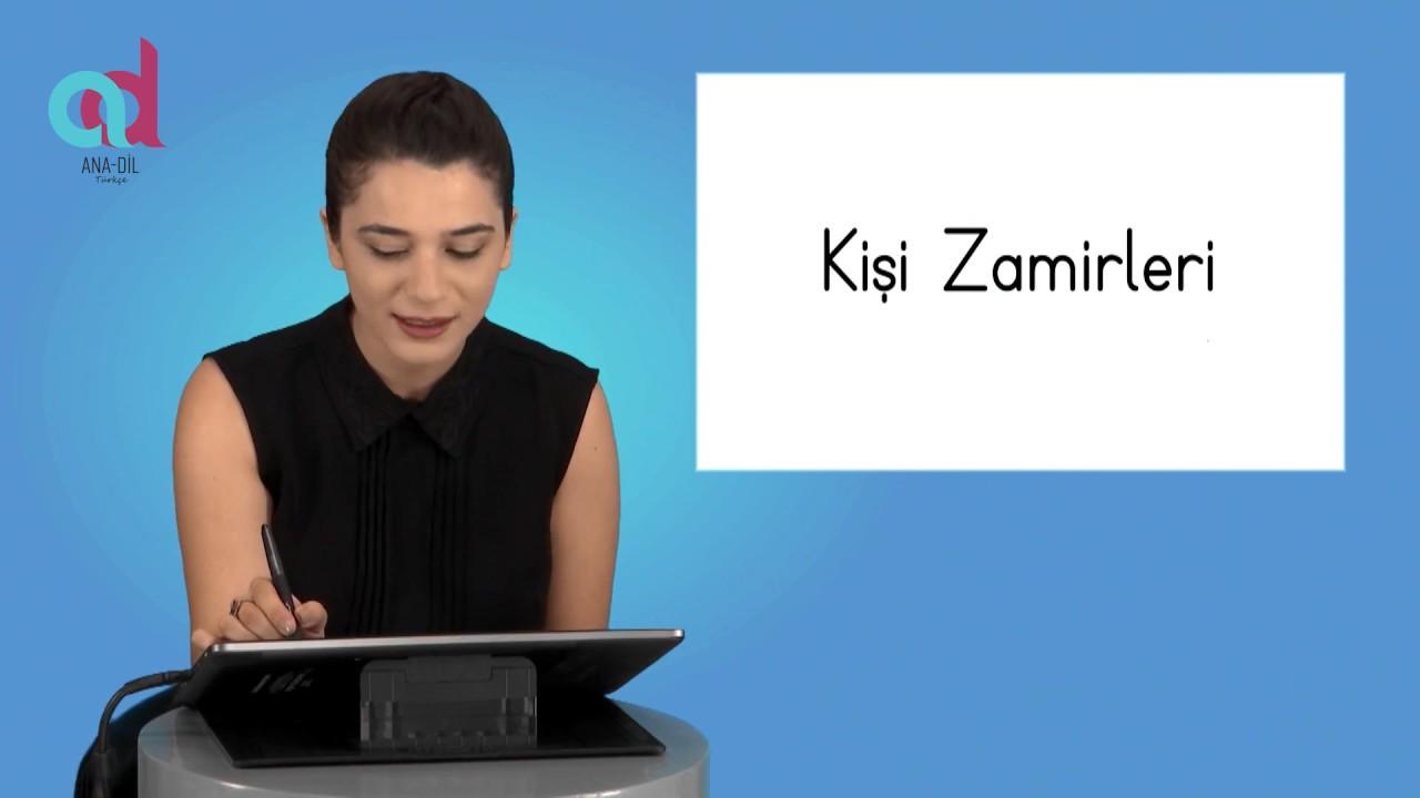 هيا لنتعلم اليوم الضمائر في اللغة التركية