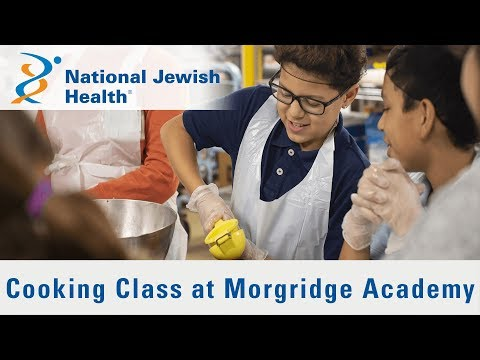 Morgridge Academy Students Learn about Cooking