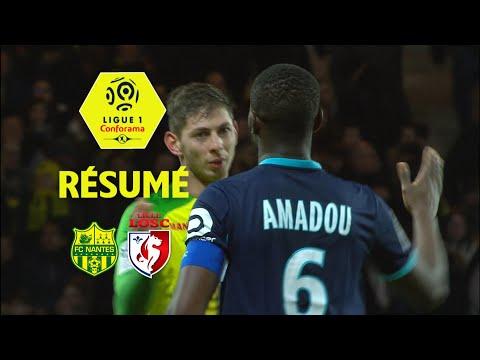 FC Nantes - LOSC (2-2)  - Résumé - (FCN - LOSC) / 2017-18