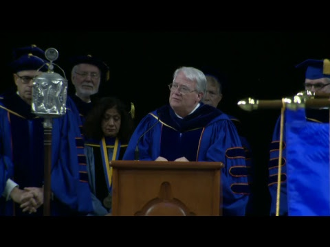 University of Tulsa Fall Commencement 2018