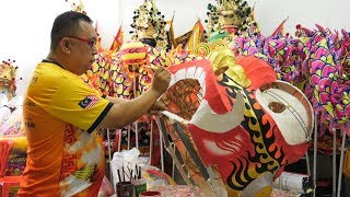 New lion heads, new hope for Year of the Dog