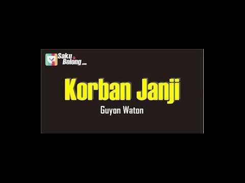 Guyon Waton Korban Janji  Lirik+terjemahan