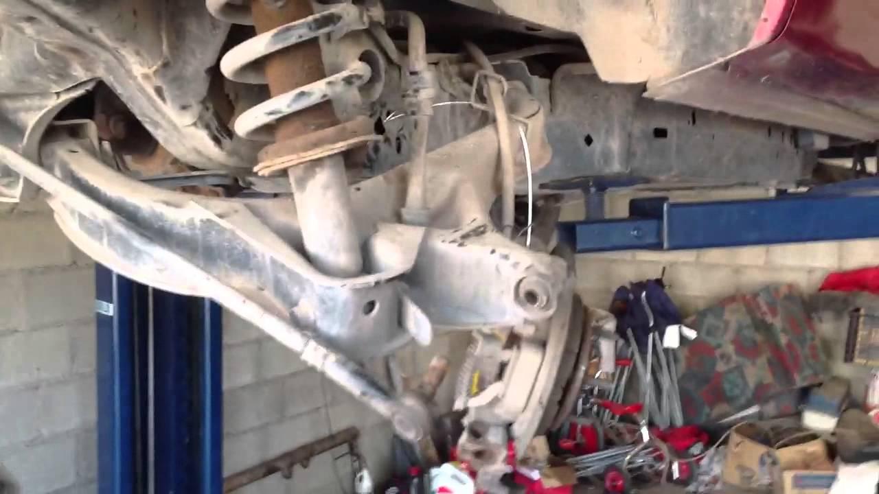 Como retirar el diferencial (eje trasero) de un ford