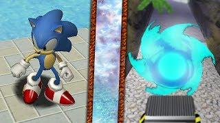 SONIC ADVENTURE DX : Forces Sonic