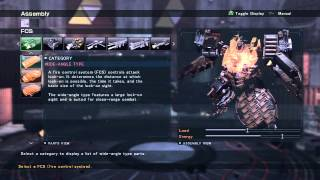 Armored Core: Verdict Day - Beginners Guide to Medium Weight AC [Infinite Pulse Machine Gun Build]