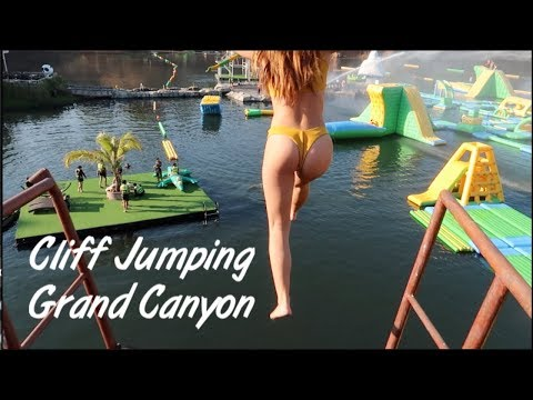 GRAND CANYON CLIFF JUMPING AND WATERPARK IN CHIANG MAI (Stud