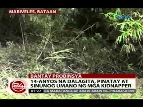 24Oras: Tatlong taong gulang na batang babae, ginahasa umano ng sariling ama sa Camarines Sur