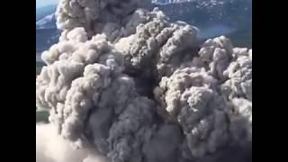 Карымский вулкан - самый активный на Камчатке
