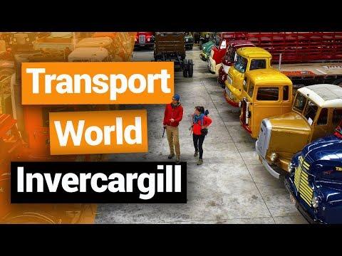Transport World in Invercargill  –  New Zealand's Biggest Gap Year – Backpacker Guide New Zealand