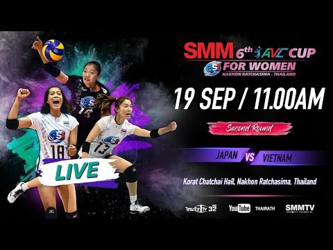 Japan Vs Vietnam | Second Round | SMM 6th Avc Cup For Women 2018