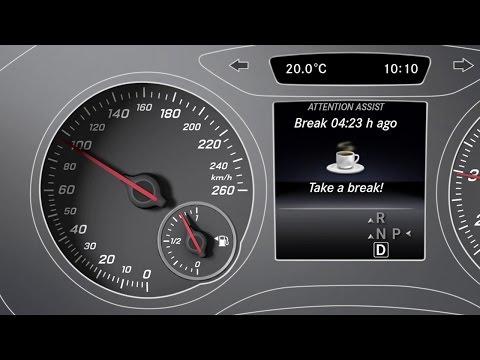 A-Class: ATTENTION ASSIST - Mercedes-Benz original