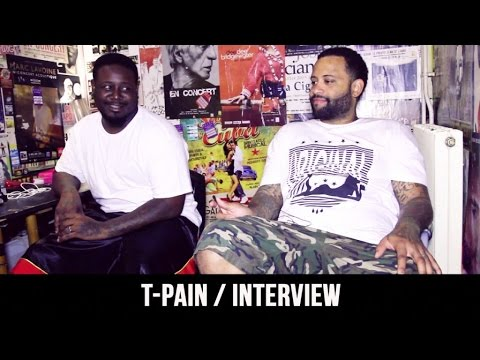 T-Pain : ''I'm paid every time somebody use Auto-tune'' !  [Interview]