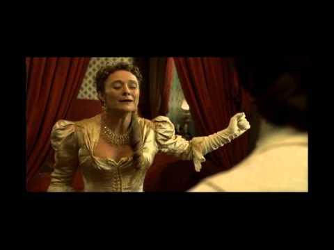 from Dorian Gray 2011 with Caroline Goodall as Lady Radley, Ben Barnes as Dorian