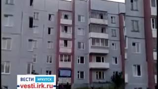 2-летняя девочка чуть не выпала из окна на пятом этаже дома в Усть-Илимске