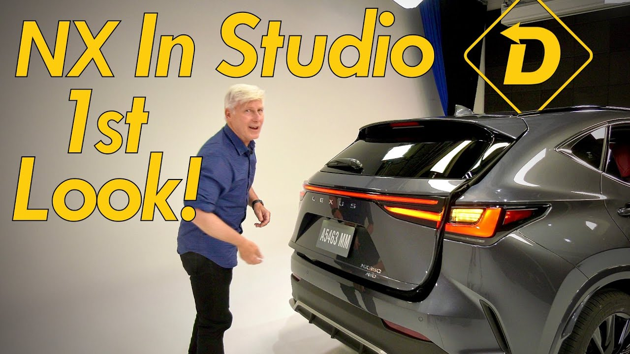 Download 2022 Lexus NX In Studio First Look! A New User Interface! A high-performance PHEV!