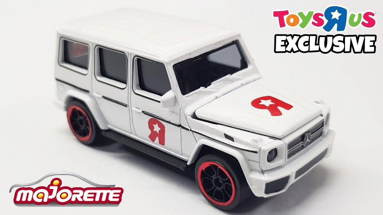 Rip Toys R Us Mercedes Amg G63 Tru Exclusive Majorette Review