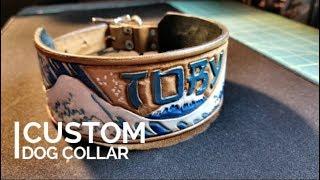 Making a Custom Leather Dog Collar
