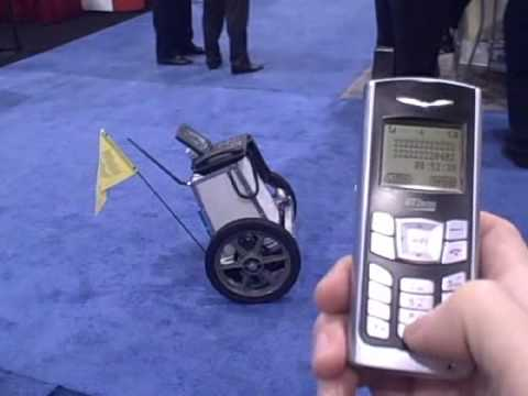 """""""Bob"""" the Asterisk robot controlled by phone"""