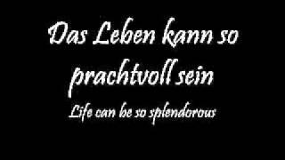 Rammstein- Rein Raus lyrics w/ English trans.