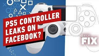 PlayStation 5 Controller and Devkit Leaks On Facebook? - IGN Daily Fix