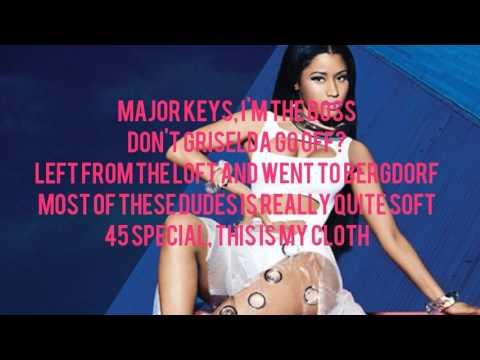 Nicki Minaj - Run Up  Verse -
