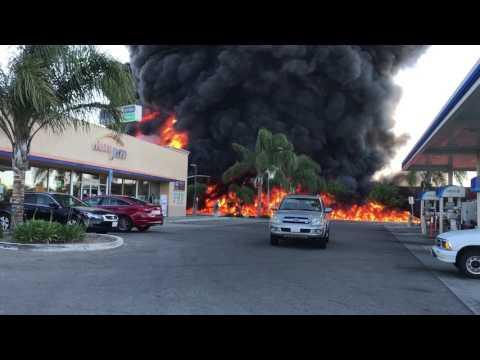 Fuel Tanker Explodes