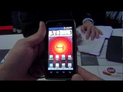 Motorola Droid 4 comentarios y especificaciones CES 2012