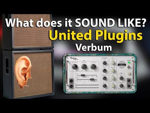 Verbum Entropic Hall | United Plugins | Vintage Reverb Plugin