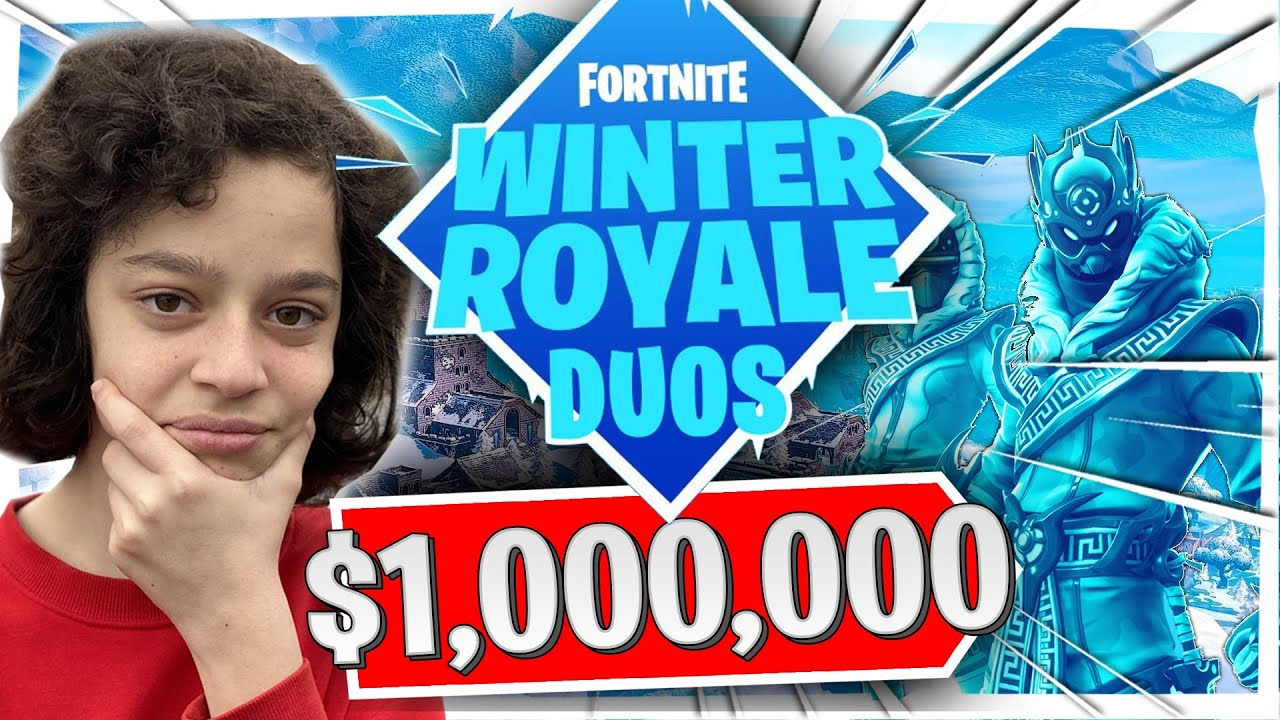 WINTER ROYALE WEST SERVERS - SO LAGGY - FORTNITE BATTLE ...