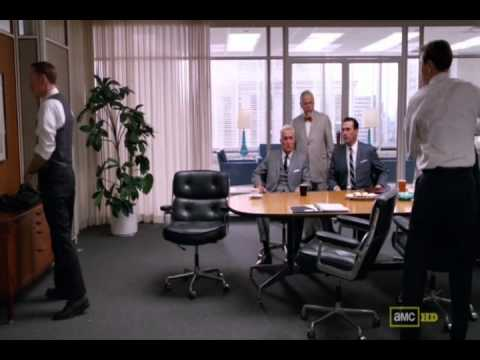 Mad Men  Lane Pryce Fights Pete Campbell