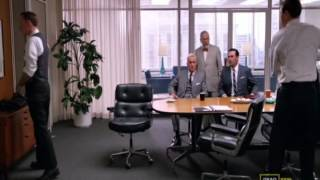 Mad Men - Lane Pryce Fights Pete Campbell