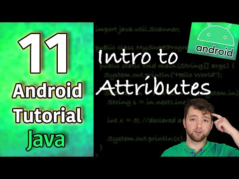 Android App Development Tutorial 11 - Intro to Attributes | Java thumbnail