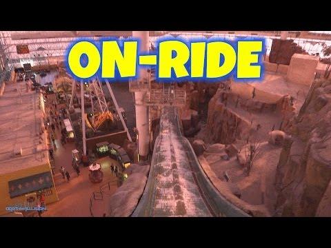 Rim Runner Defunct On-ride Front Seat (HD POV) Adventure Dome Circus Circus Las Vegas