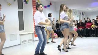 Сальса, хореограф Давид Мартиросян