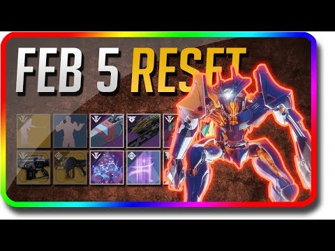 Destiny 2 - 7 Nightfalls Weekly Reset! (February 5 Black Armory Weekly Reset, Powerful Gear) thumbnail