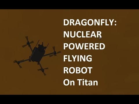 NASA Considering Sending Nuclear Powered Flying Robot To Titan
