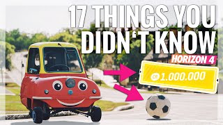 Forza Horizon 4 | 17 Things You Didn't Know! (Funny Moments, Details, Easter Eggs, Hidden Secrets)