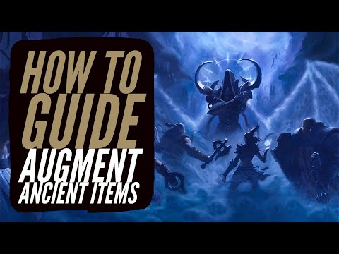 Diablo 3 - How To Augment Ancient Items