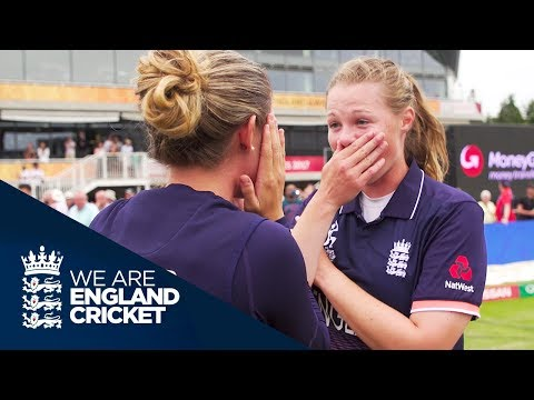 England Players React After Nail-Biting Finish To Reach Final - Women