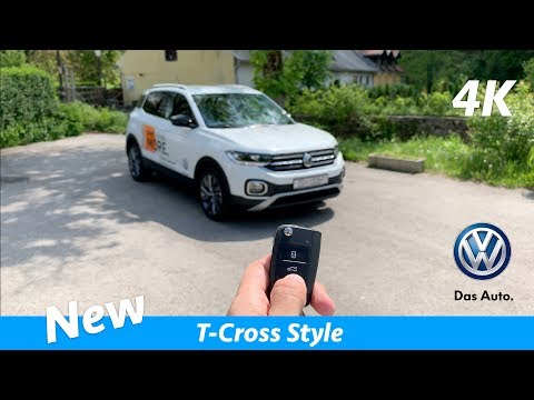 Volkswagen T-Cross Style 2019 - FIRST in-depth review in 4K | Interior/Exterior