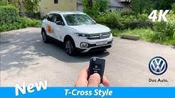 Volkswagen T-Cross Style 2019 - FIRST in-depth review in 4K | Interior/Exterior