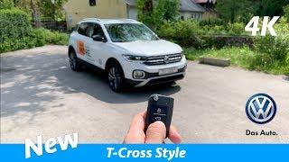 Volkswagen T-Cross Style 2019 - FIRST in-depth review in 4K   Interior/Exterior