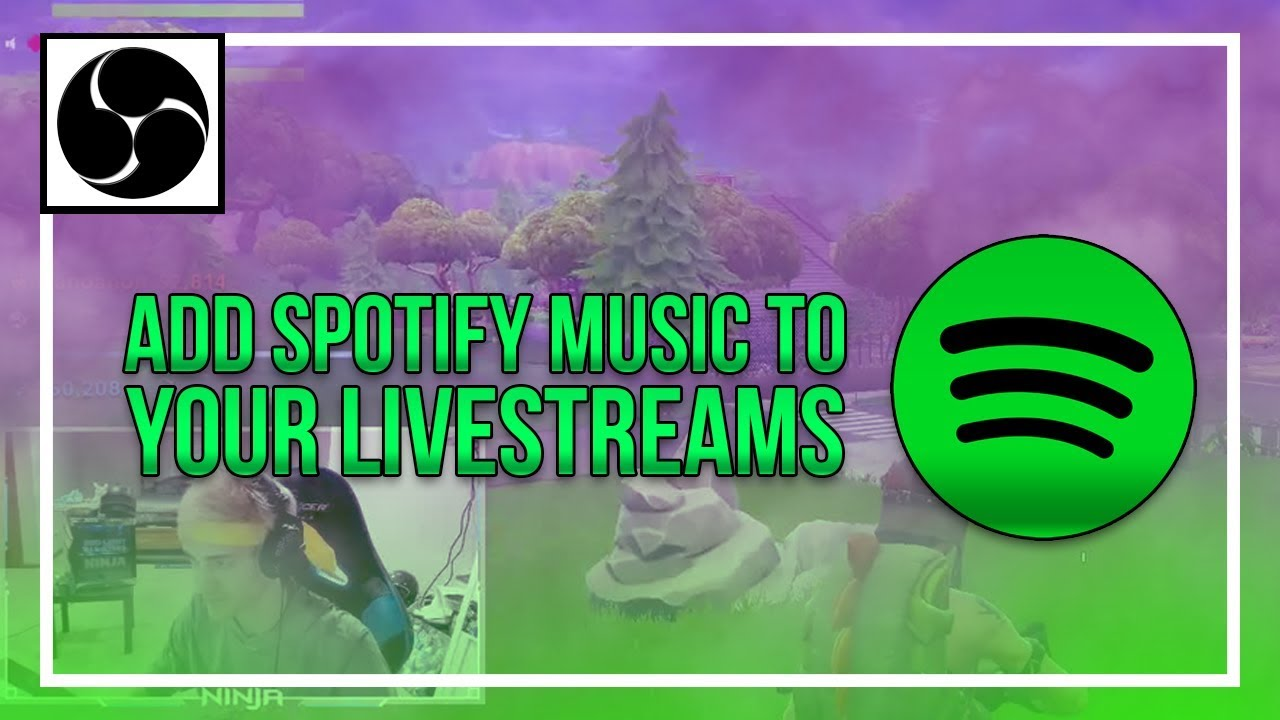 How To: Add Spotify to Livestreams using OBS