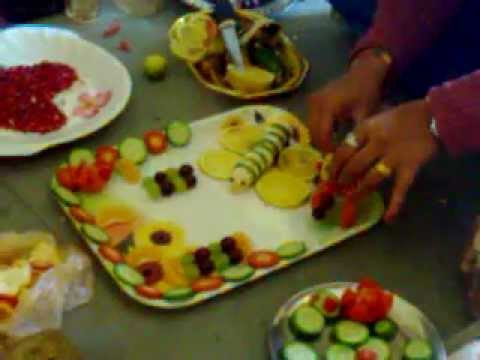 SAPTADHARA FRUIT SALAD DECORATION COMPETITION YouTube